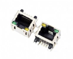 56 series pcb jack RJ45 with LED